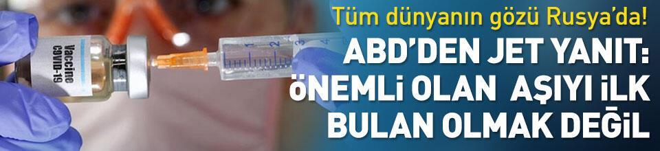 Önemli olan aşıyı bulan ilk taraf olmak değil