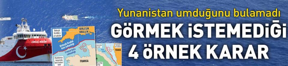 İşte Yunanistan'ın görmek istemediği 4 örnek karar
