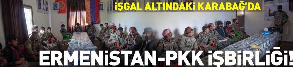 Ermenistan-PKK/YPG işbirliği!