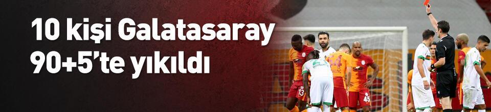Galatasaray 90+5'te yıkıldı