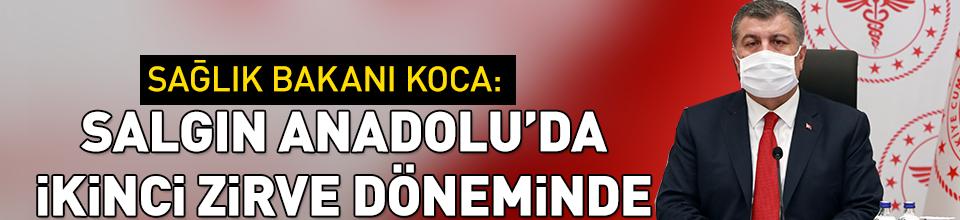 Salgın Anadolu'da 2. zirvesinde