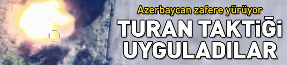 Azerbaycan zafere yürüyor