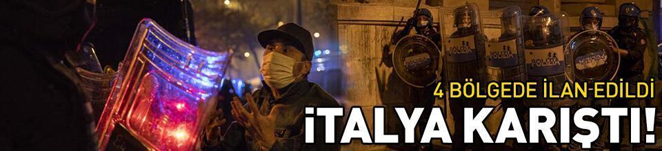İtalya karıştı! Sokağa çıktılar