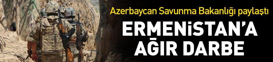 Ermenistan'a ağır darbe
