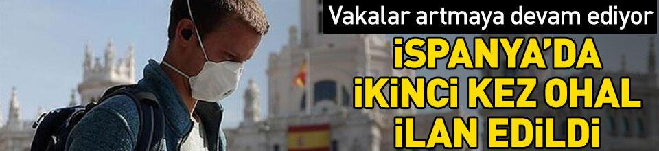 İspanya, ikinci kez ulusal OHAL ilan etti