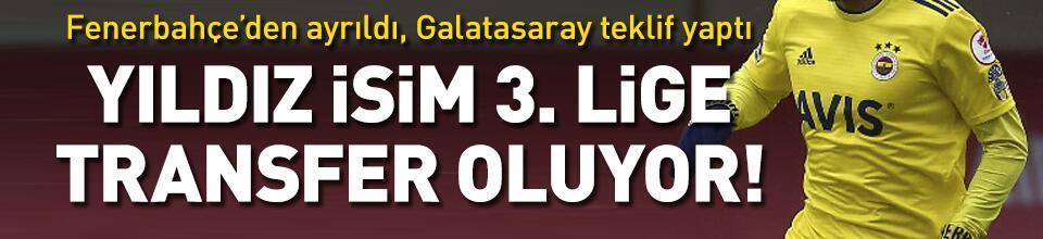 Fenerbahçe'den ayrıldı, 3. lige transfer oluyor!