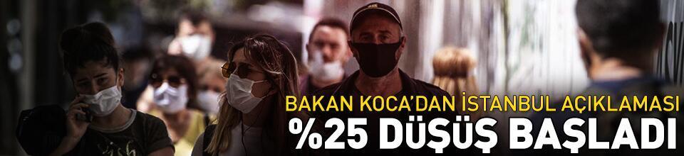 Bakan Koca'dan İstanbul açıklaması