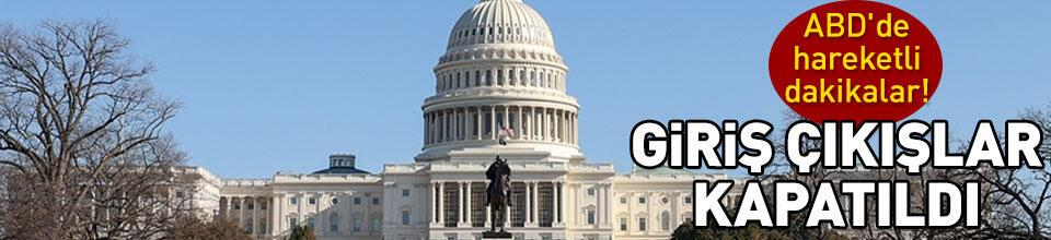Kongre binasına giriş çıkışlar kapatıldı