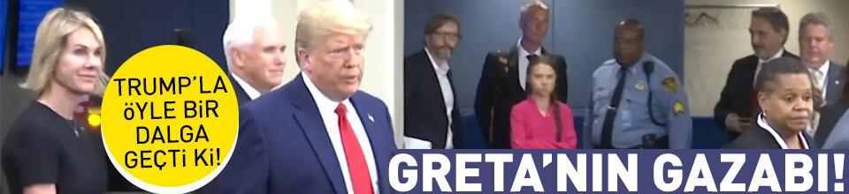 Thunberg, Trump'ı 'kendi sözleriyle' uğurladı
