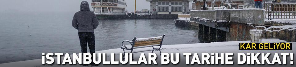 İstanbul'da bu tarihlere dikkat!