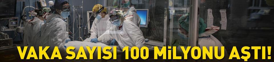 Dünyada COVID-19 vakaları 100 milyonu geçti