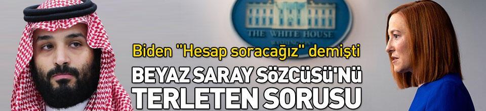 Beyaz Saray Sözcüsü'nü terleten Prens Selman sorusu