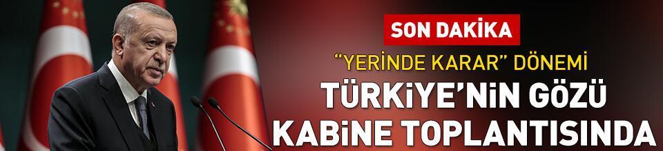 Cumhurbaşkanı Erdoğan kararları açıklayacak