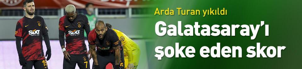 Galatasaray Ankara'da şoku yaşadı