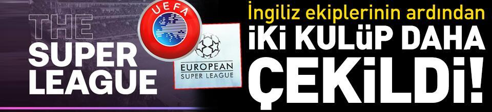 Atletico Madrid ve Inter Avrupa Süper Ligi'nden çekildi!