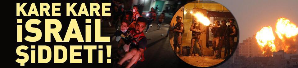 İsrail'in Filistinlilere saldırıları sürüyor