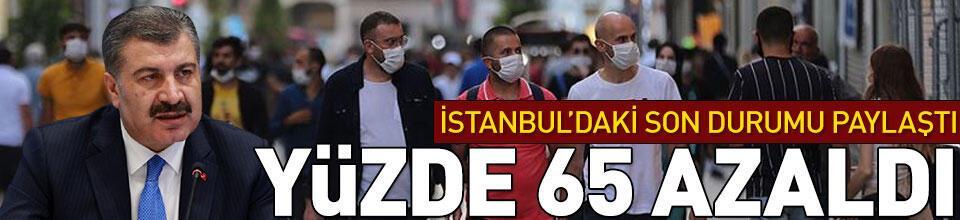 İstanbul'daki son durumu paylaştı