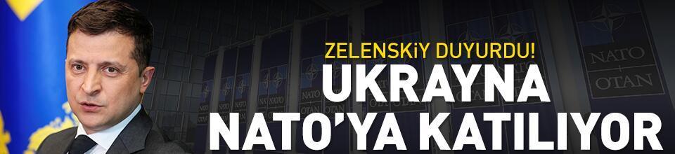 Ukrayna NATO'ya katılıyor
