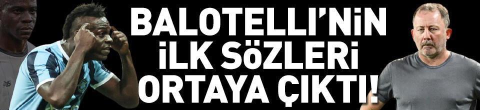 Balotelli olayla ilgili ilk kez konuştu!