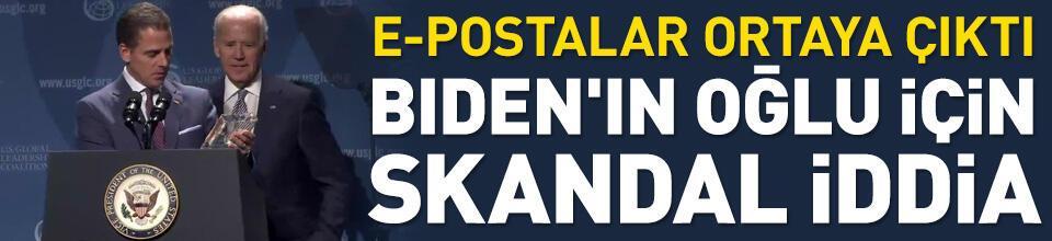 Hunter Biden'ın rüşvet istediği e-postalar sızdı