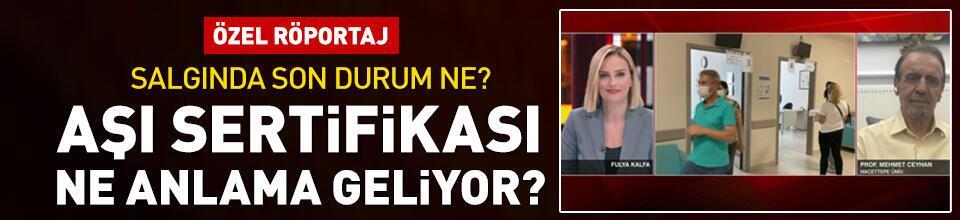 Türkiye'nin aşı sertifikası adımı ne anlama geliyor?