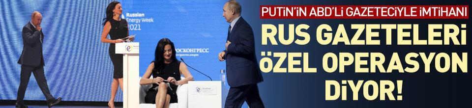 """Rus medyası sunucuyu Putin'in dikkatini dağıtmak için """"özel olarak"""" gönderilmekle suçladı"""