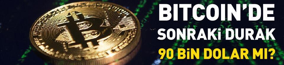 Bitcoin'de sonraki durak 90 bin dolar mı?