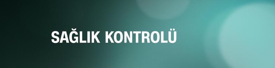 Sağlık Kontrolü - CNNTürk TV